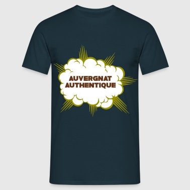 France Auvergne Auvergnat authentique - T-shirt Homme