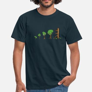 Wooden Dummy treevolution - Männer T-Shirt