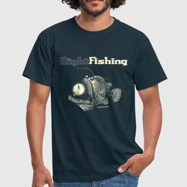night fishing - Mannen T-shirt