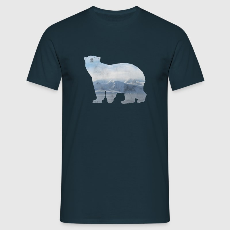 Polar Bear - Men's T-Shirt