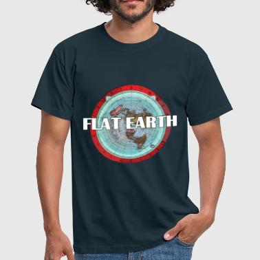 FLAT EARTH - Männer T-Shirt