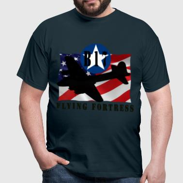 B17 Flying Fortress - Men's T-Shirt