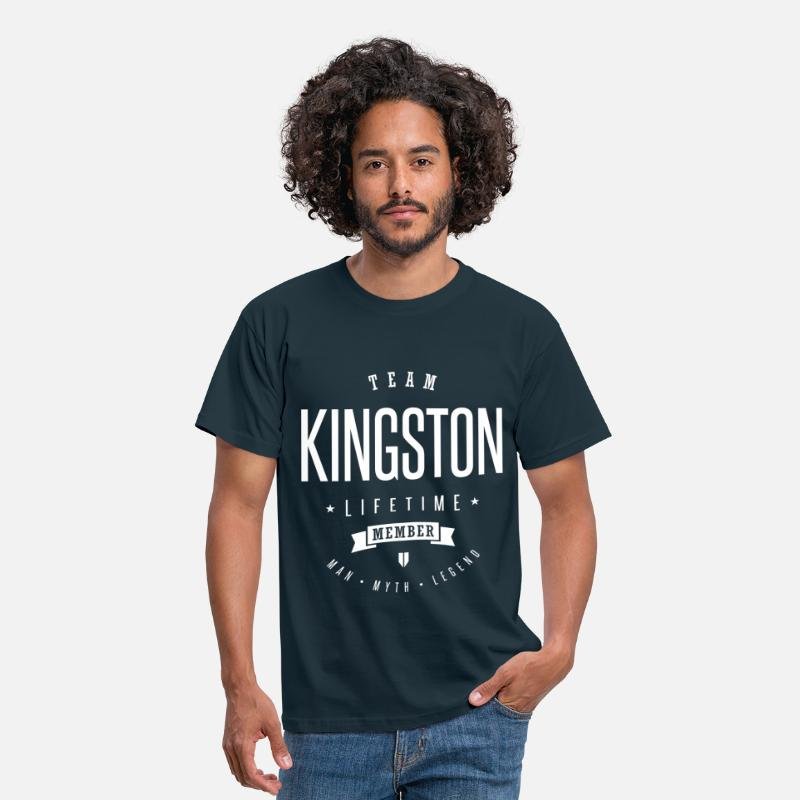 Kingston T-Shirts - Team Kingston - Men's T-Shirt navy