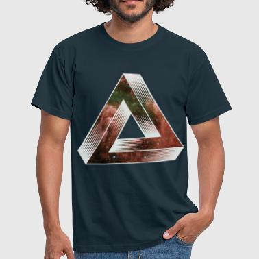Impossible Cosmic Impossible Triangle - Men's T-Shirt