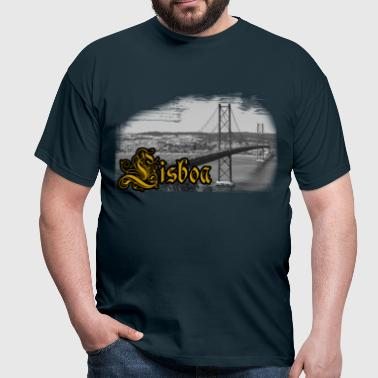 Lisbon bridge - T-shirt Homme