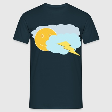 English Weather - Men's T-Shirt