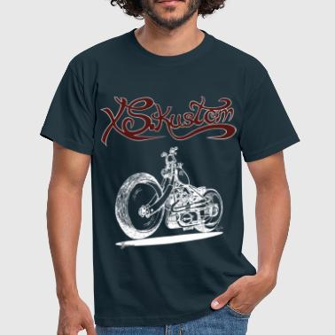 Kustom XS Kustom - Navy - Men's T-Shirt