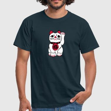 maneki neko - Men's T-Shirt