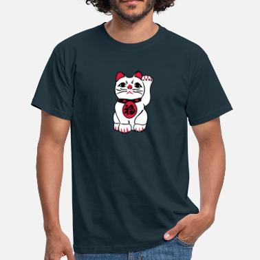 China maneki neko - Mannen T-shirt