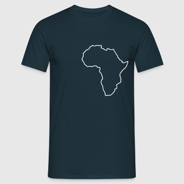 Africa Map - Men's T-Shirt