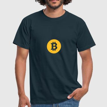 Bitcoin, Symbol, Sign, Blockchain, BTC, Cryptos - T-shirt herr