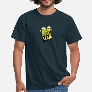 Borracho Brindis Beer Drinking Team - Camiseta hombre