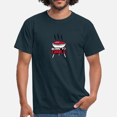 Born To Grill Born To Grill - T-shirt herr