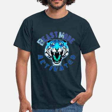 Beast Mode Beast mode activated - Mannen T-shirt