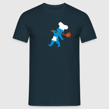 Cupido cooking - Männer T-Shirt