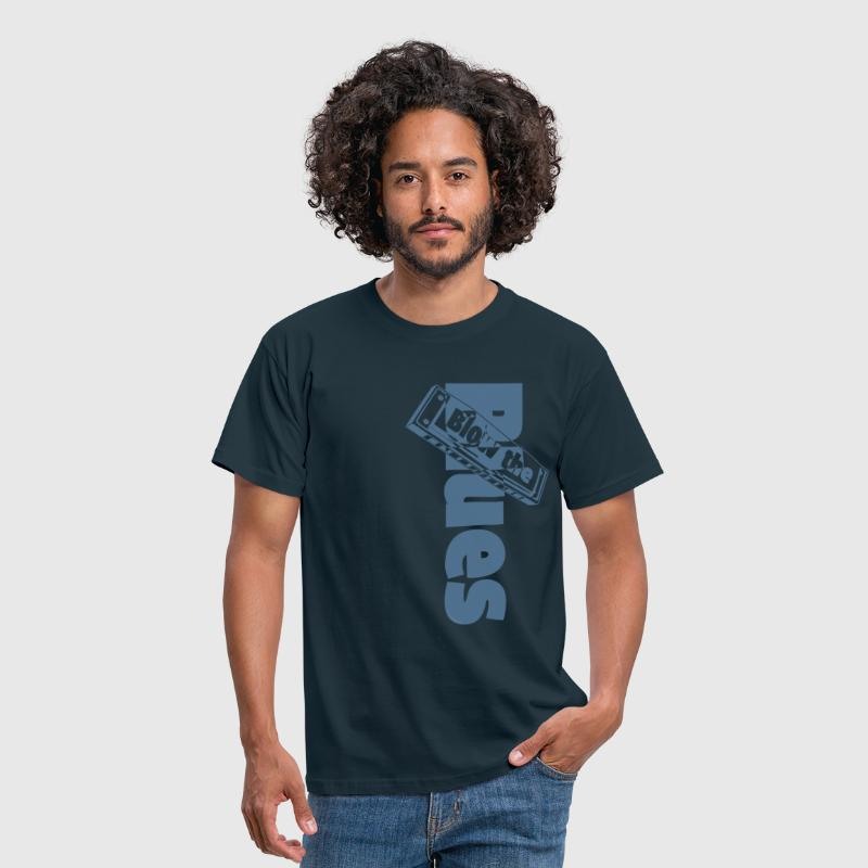 Blues Harmonica - Men's T-Shirt