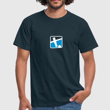 soccer player - Kickershirt - Männer T-Shirt