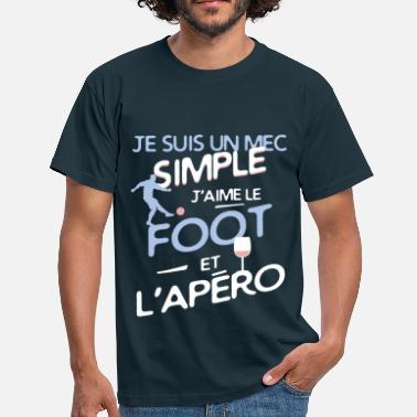 Simple Football - un mec simple - T-shirt Homme