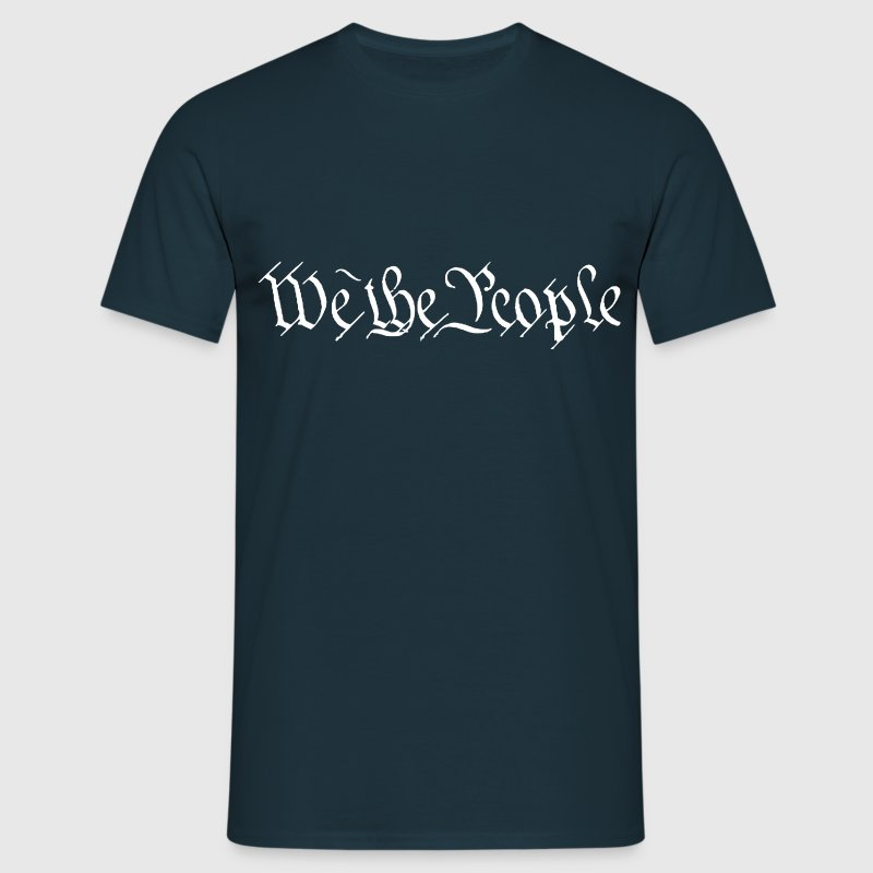 We The People - Männer T-Shirt