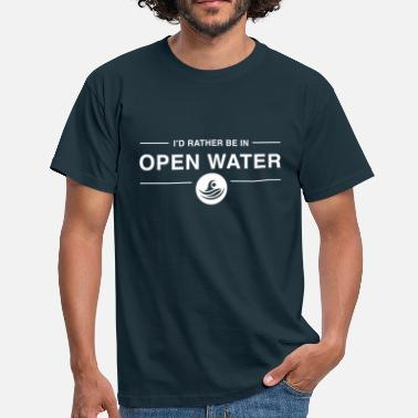 Swimming I'd rather be in open water - Men's T-Shirt