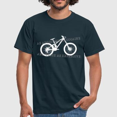 Downhill addictive  - Männer T-Shirt