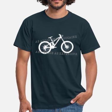 Downhill addictive  - Men's T-Shirt