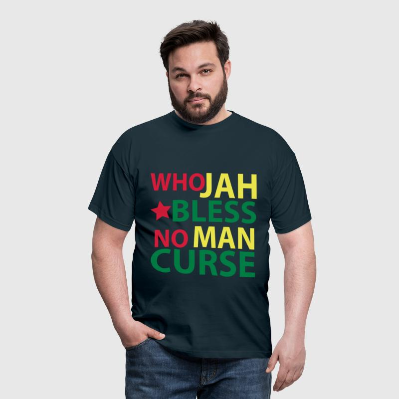 who jah bless - Männer T-Shirt