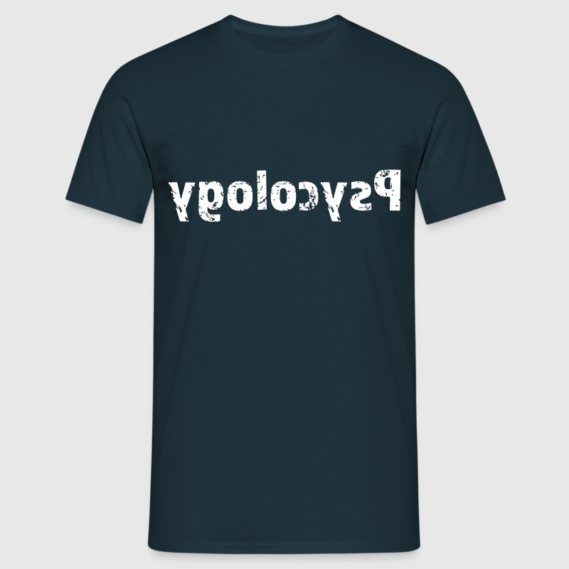 Psycology reflected text - Camiseta hombre