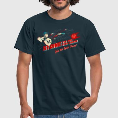 Join the Space Force (dark shirt) - Men's T-Shirt