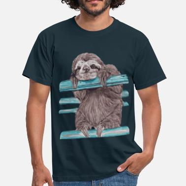 Paresseux hey mr sloth - T-shirt Homme