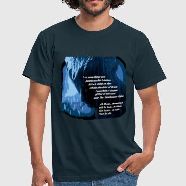 Tears ive_seen_things - Men's T-Shirt