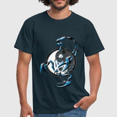 scorpion tribal Yin et yang By CustomStyle - T-shirt Homme