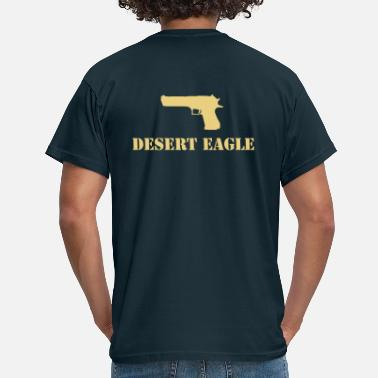 50 Cal desert_eagle - Men's T-Shirt