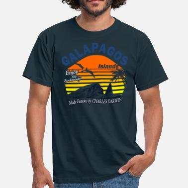 Booby Galapagos Islands - Men's T-Shirt