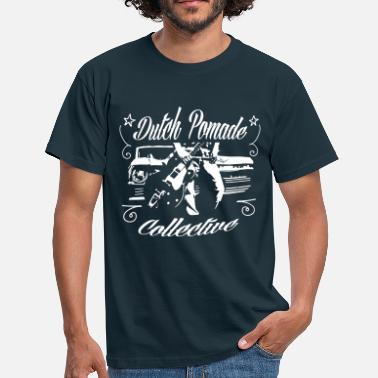 Johnny Cash Dutch pomade collective - Mannen T-shirt