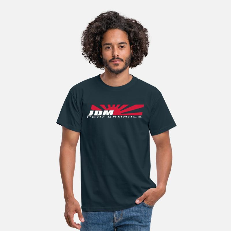 Performance T-Shirts - JDM PERFORMANCE Japan Rising Sun  - Men's T-Shirt navy