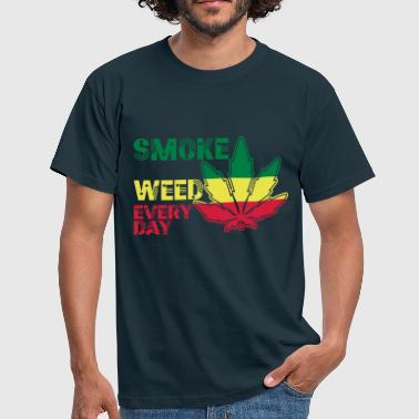 smoke weed every day - Mannen T-shirt