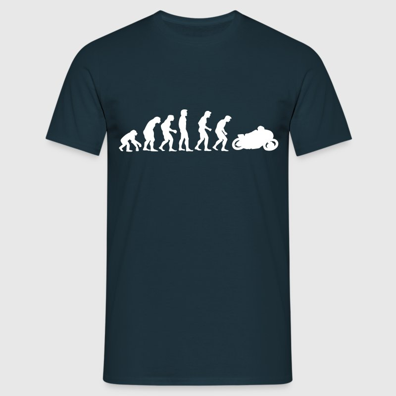 motorcycle evolution - Mannen T-shirt