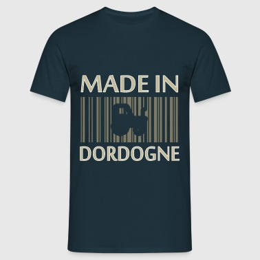 France Aquitaine Made in Dordogne 24 Tracteur - T-shirt Homme