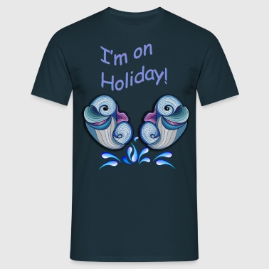 I'm on holliday - Men's T-Shirt