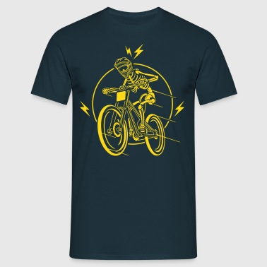 Biking, Lets ride bycicle - Männer T-Shirt