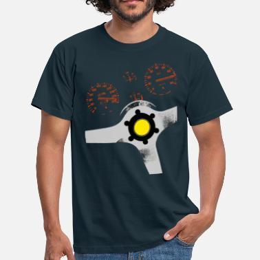 Dashboard analog supercar - Men's T-Shirt