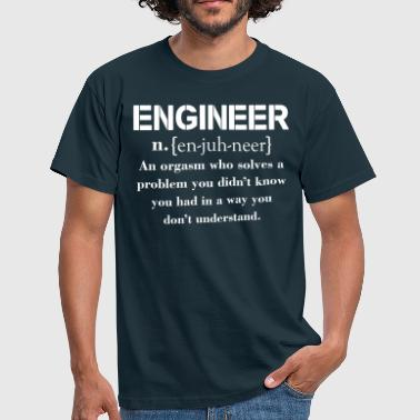 Precision Guesswork Engineer Definition Funny T-shirt - Men's T-Shirt