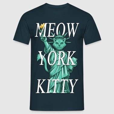 Meow York Kitty - T-shirt Homme