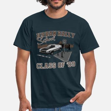 Putting Urban Rally School - Men's T-Shirt