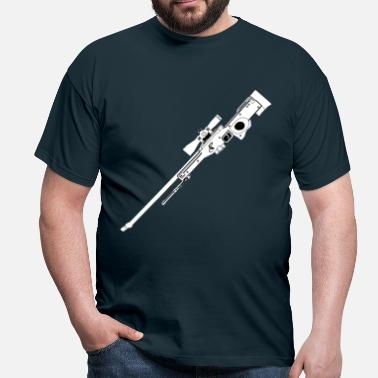 Black Rifle AWP Rifle Black - Men's T-Shirt