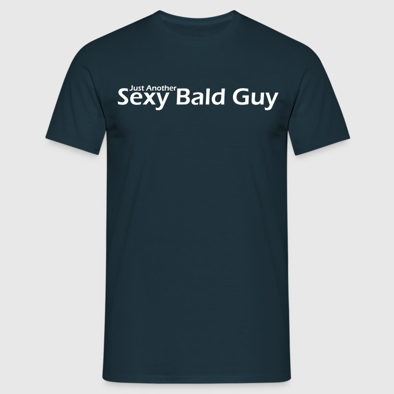 Bald Guy 1 - Men's T-Shirt