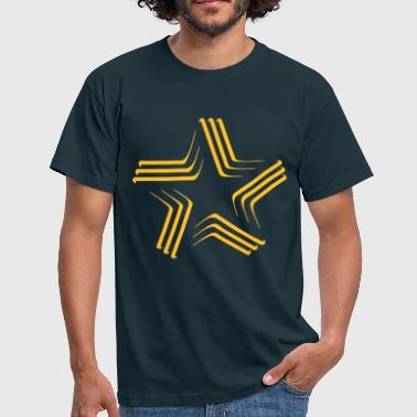Spirituality Star Symbol - Men's T-Shirt