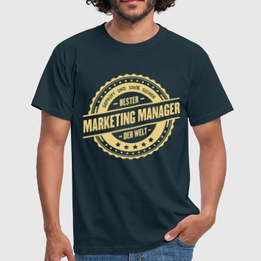 Bester Marketing Manager - Männer T-Shirt