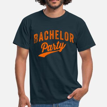 Oranje Party Bachelor Party oranje - Mannen T-shirt